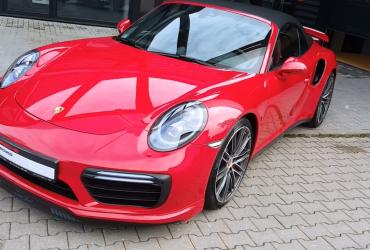 Porsche Turbo cabrio topowe zabezpieczenie lakieru
